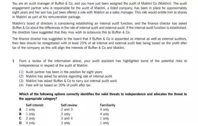 ACCA F8机考考题部分-图2